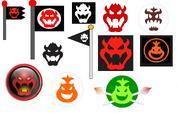 Emblemas de bowser
