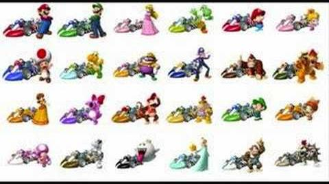 Mario Kart Wii Credits Part 2