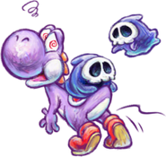 200px-Purple Yoshi and Grim Leechers Artwork - Yoshi's New Island