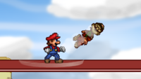 Mario Forward Throw 2