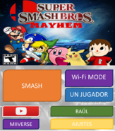 Pantalla 4DS Super Smash Bros. Mayhem By Silver & Company
