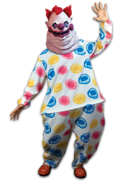 Killer Klowns Outer Space Fastso Costume 7