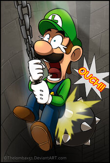 Chain event luigi by thelombax51-d4t0f9z