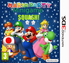 Mario Party 3DS Box
