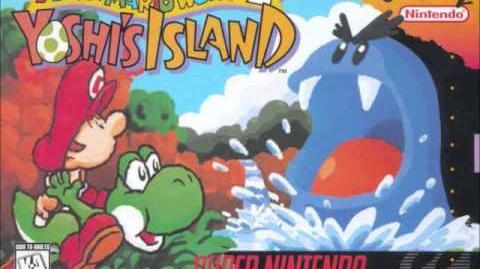 Super Mario World 2 Yoshi's Island - Yoshi's Field - (Overworld remix)