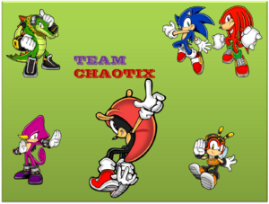 Team Chaotix Logo by STH Company Games