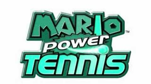 Mario Power Tennis Music - Luigi's Mansion Gimmick Court