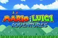 Mario & Luigi adventures nuevo logo
