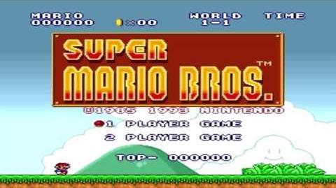 Super Mario Bros 1 - Title Screen (Sega Genesis Remix)