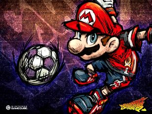 Work art Mario strikers
