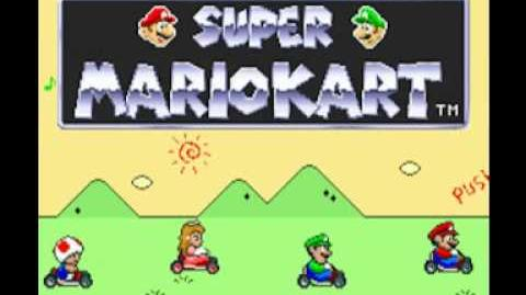 Super Mario Kart (SNES) Music - Character Select