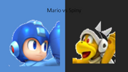 Mario vs Spiny