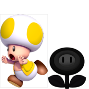 Toad y Flor Malvada