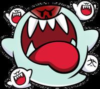 Big Boo Artwork - Mario Pinball Land