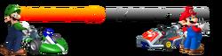 Mario Kart 9 Logo by Silver Martínez (Beta)
