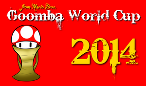 Goomba World Cup 2014 Logo