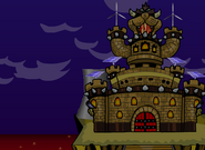 Castillo de Bowser renovable