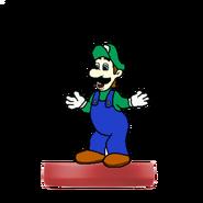 Luigi Amiibo (HM)