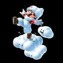 Mario nube SMG2