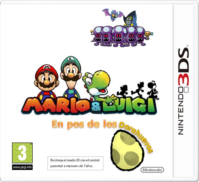 Mario Luigi En Pos De Los Dorahuevos Mario Fanon Wiki Fandom