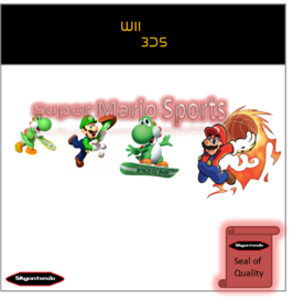 Super Mario Sports Carátula by Silver Martínez