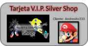 Silver Shop VIP Card Andresito333