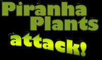 Piranha Plants attack! - logo