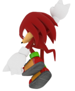 Knuckles the echidna finished textures by mintenndo-d5idgc2