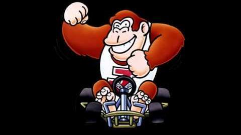 Super Mario Kart - DK Jr