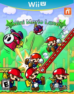 Mini Mario Land Carátula actual