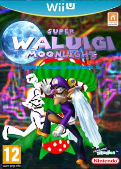 Super Waluigi Moonlight Wii U
