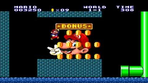 Super Mario Bros 1 - Bonus Area (Sega Genesis Remix)