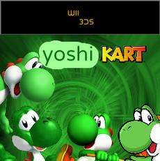 Yoshi kart wii 3ds