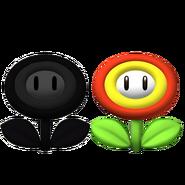 Flor Malvada y Flor de Fuego