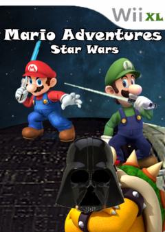 Mario Adventures Star Wars
