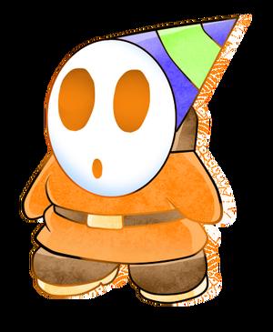 Shy guy sombrero