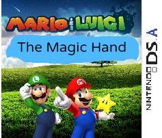 Mario & luigi the magic hand caratula