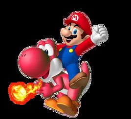 Red Yoshi SMW3D