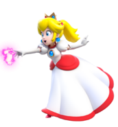 954px-Fire Princess Peach Artwork (alt) - Super Mario 3D World