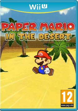 Paper Mario In the Desert - New logo by Gablemice