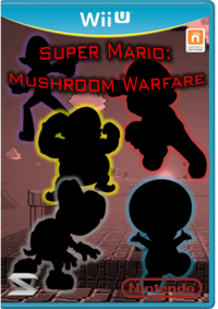 Super Mario Mushroom Warfare Carátula By Silver Martinez