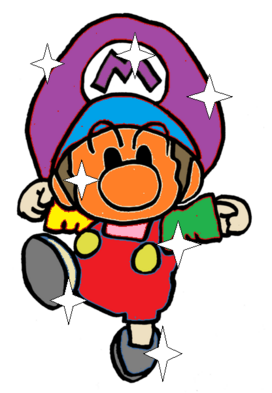 Bebe Mario invencible