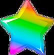 Rainbowy star