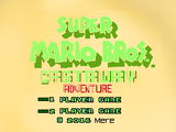 Super Mario Bros. Castaway Adventure