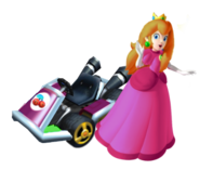 Cherry in Mario Kart (by Lemon)