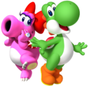 Birdo y Yoshi