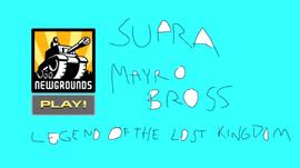 Supra Mayro Bross pantalla de inicio