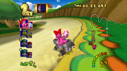 MKDD Screenshot Marios Piste 6