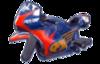 MK8 Sprite Renn-Bike