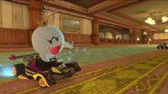 MK8D Screenshot Luigis Villa König Buu Huu und Knochentrocken